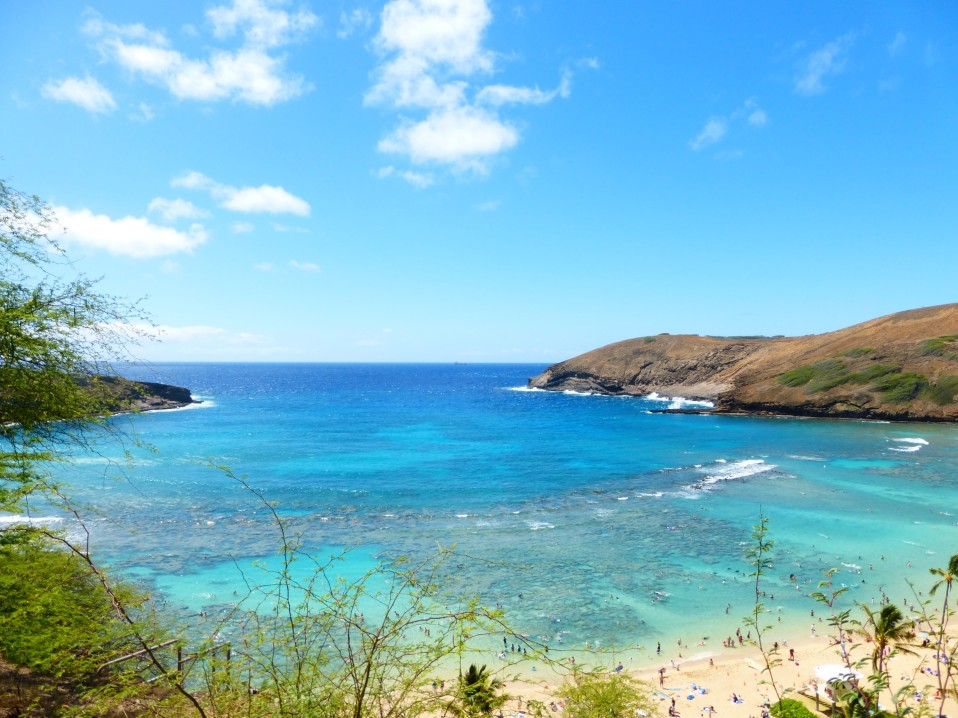 Hanauma Bay Oahu Hawaii - Reiseblog ferntastisch