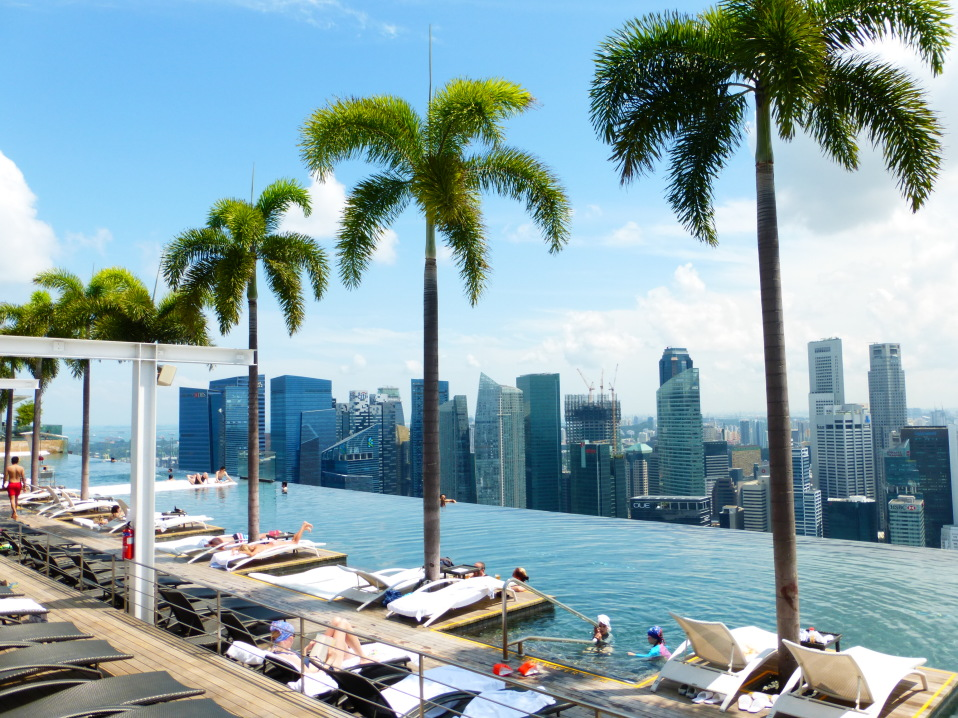 Marina Bay Sands Pool Singapur