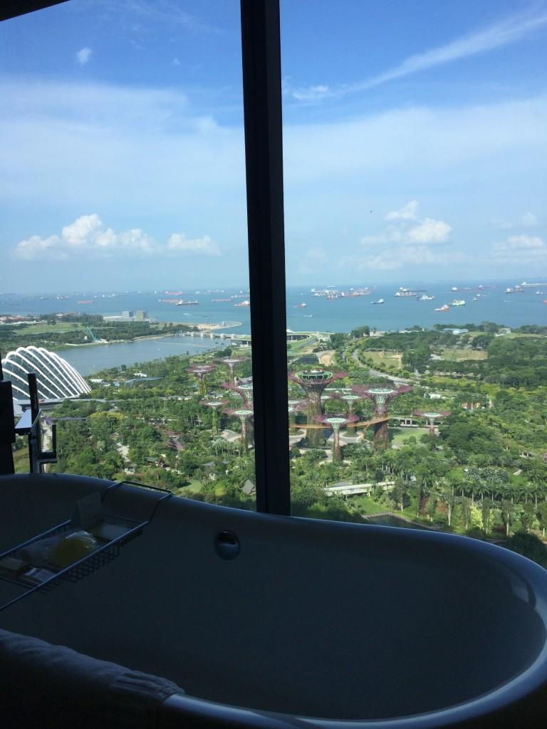 Marina Bay Sands Badezimmer