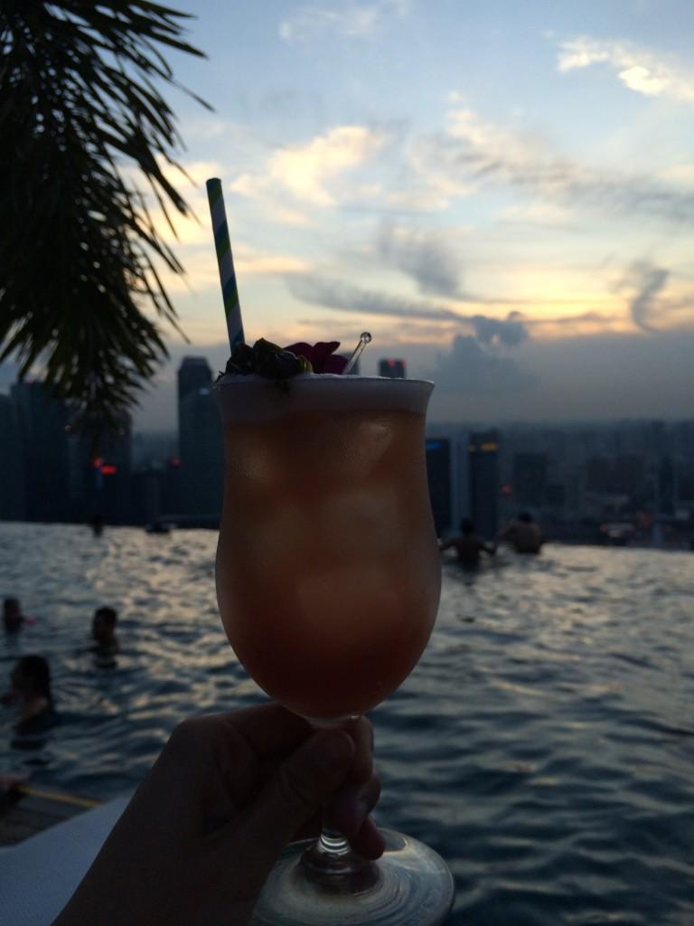 Marina Bay Sands Singapore Sling