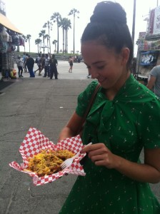 Los Angeles Venice Beach Chili Cheese Fries