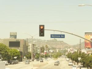 Los Angeles Melrose Avenue