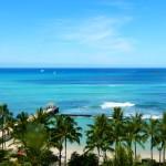 Meerblick Waikiki Hawaii