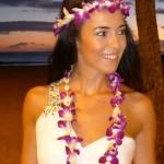 Braut Brautkleid Flitterwochen Waikiki Hawaii