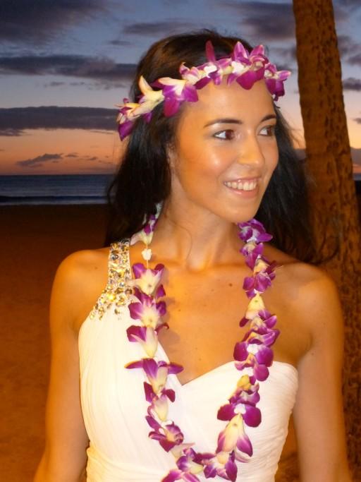 Brautkleid Hawaii-Style - ferntastisch