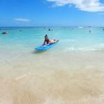 Surfen Waikiki Hawaii