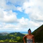 Nuuanu Pali Lookout Oahu Hawaii