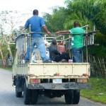 Verkehr Fahren Dominikanische Republik