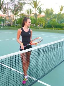 Tennis bei Hitze