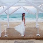 Braut Brautkleid Flitterwochen Playa Bavaro Punta Cana