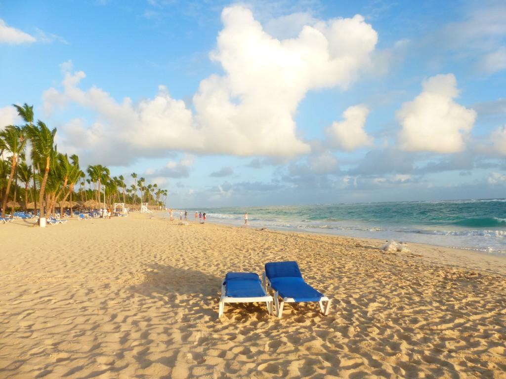 Strandliegen Punta Cana