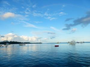 Bucht von Tamarin Mauritius