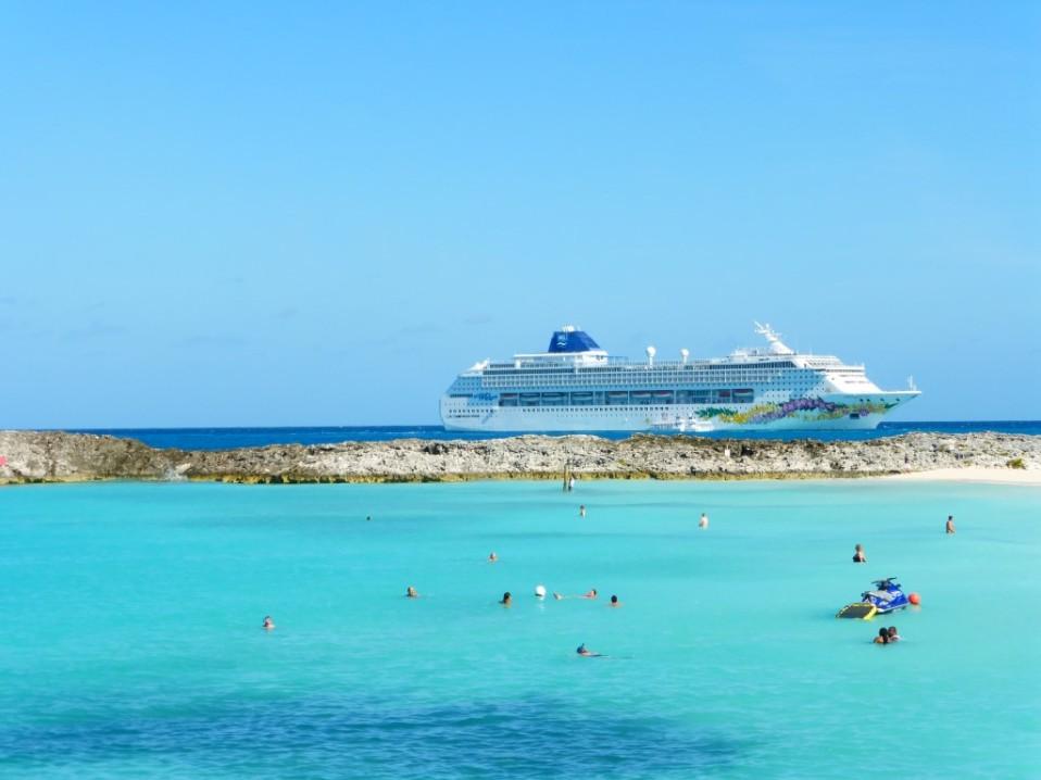 Norwegian Sky Bahamas Kreuzfahrt Great Stirrup Cay