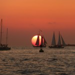Der Sonnenuntergang am Mallory Square in Key West: Romantik mit 1000 Mann