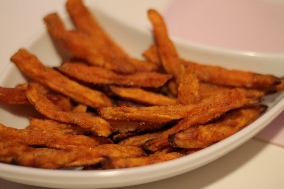 Sweet Potato Fries Rezept Süßkartoffel Pommes Rezept