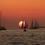 Florida Keys Highlights Sonnenuntergang Key West Mallory Square