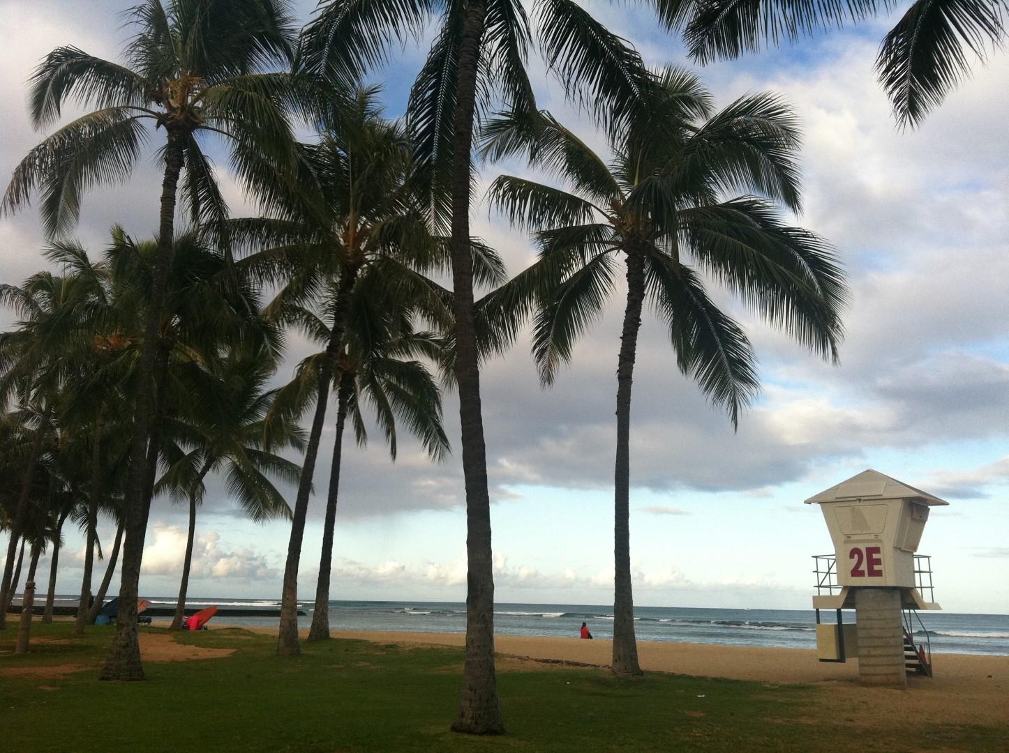 Ala Moana Beach Oahu Hawaii