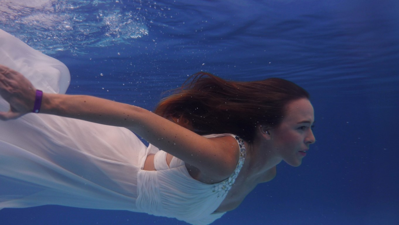 Unterwasser Kamerahülle Kameratasche Unterwasserfotos Brautkleid Reiseblog