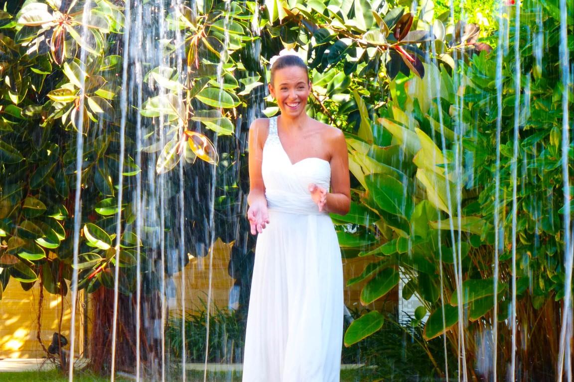 Hinter den Kulissen: Brautkleidfotos, die daneben gingen