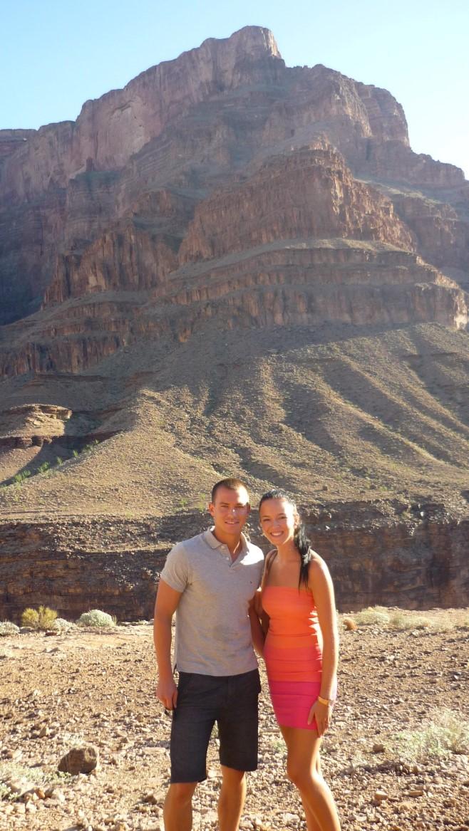 Grand Canyon Hubschrauberflug Heiratsantrag