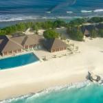 Luftaufnahmen von unserem Malediven-Traumresort
