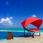 Hallo aus dem Norden der Malediven