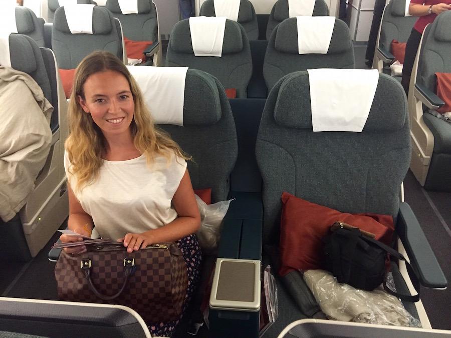 Flug Cathay Pacific Business Class - Reiseblog ferntastisch