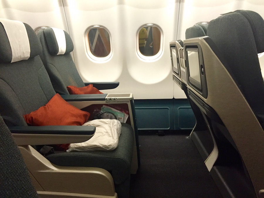 Flug Cathay Pacific Business Class - Reiseblog ferntastisch