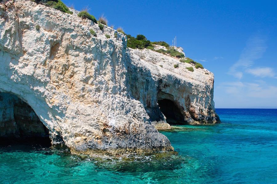 Blue Caves Zakynthos - Reiseblog ferntastisch