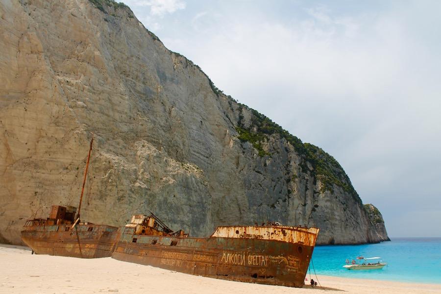 Navagio Beach Navagio Bay Shipwreck Beach Zakynthos - Reiseblog ferntastisch