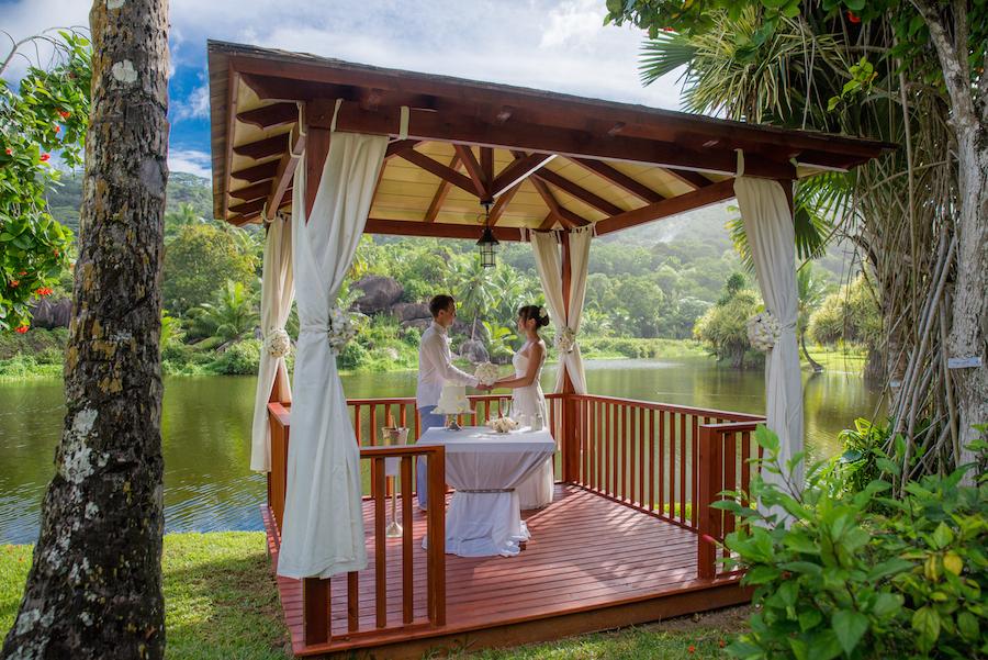 Kempinski Seychelles Resort Hochzeit Flitterwochen Seychellen