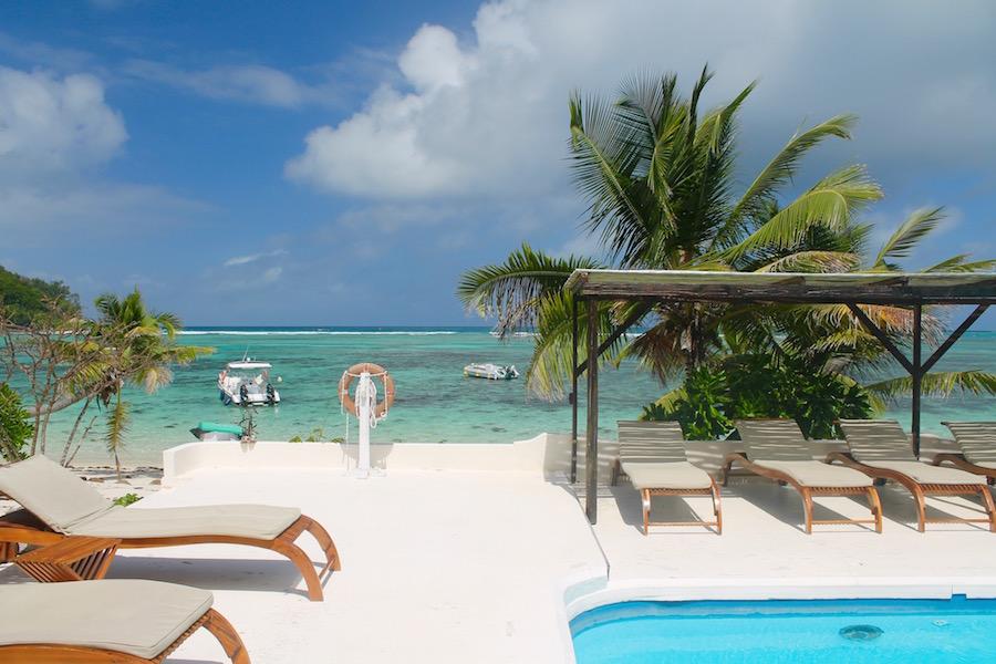 New Emerald Cove Hotel Praslin Seychellen - Reiseblog