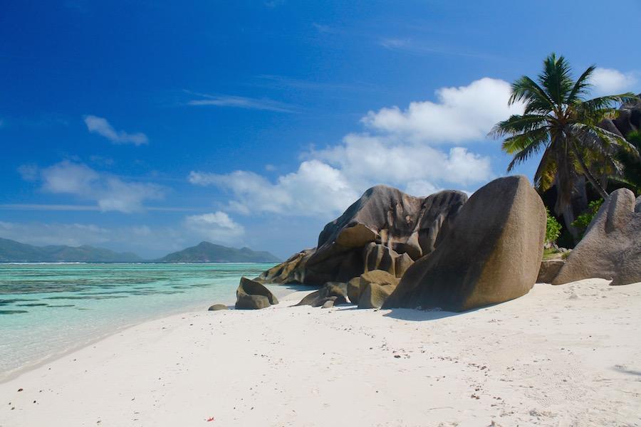 Anse Source d'Argent La Digue Seychellen