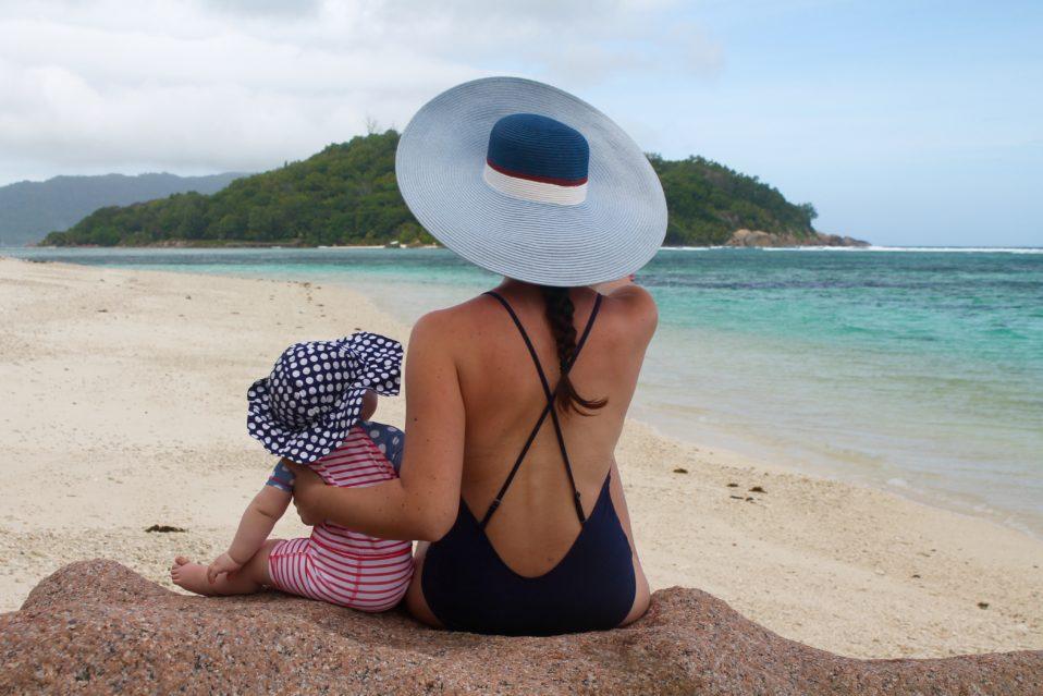 Seychellen mit Baby Tipps Fernreise mit Baby Kleinkind