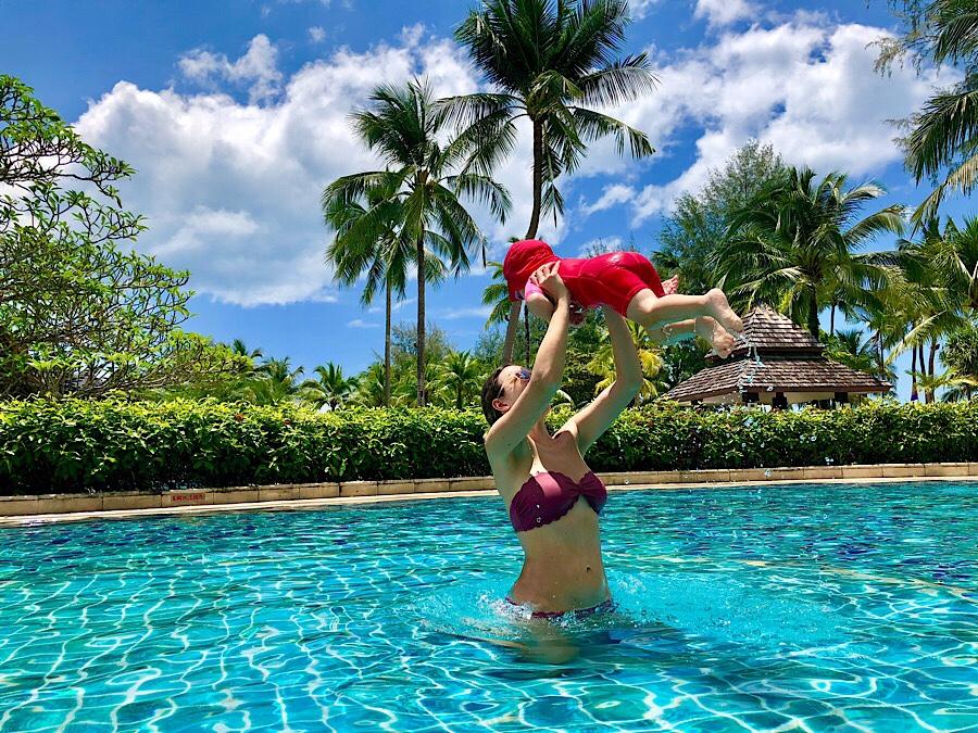Robinson Club Khao Lak Thailand mit Kind