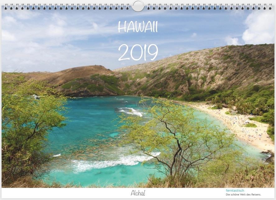 Hawaii-Kalender 2019 Titelbild