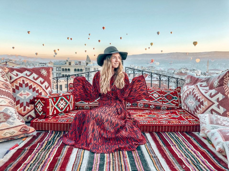 schönste Orte beste Instagram-Spots Kappadokien Türkei Heißluftballons