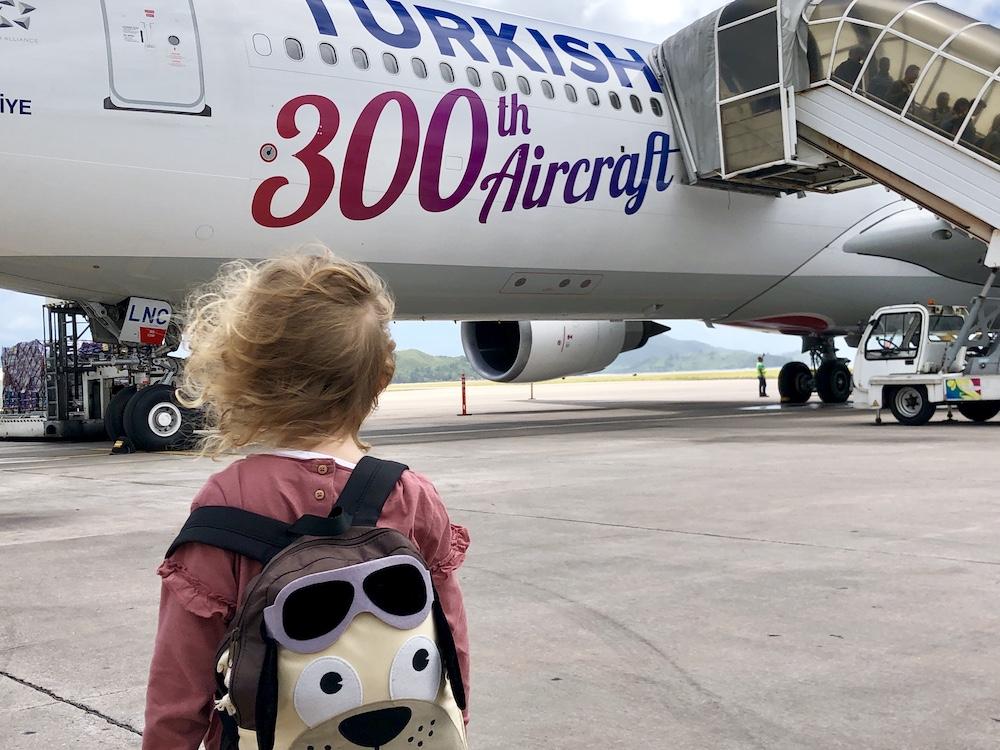 Seychellen-Flug Turkish Airlines - Reiseblog ferntastisch