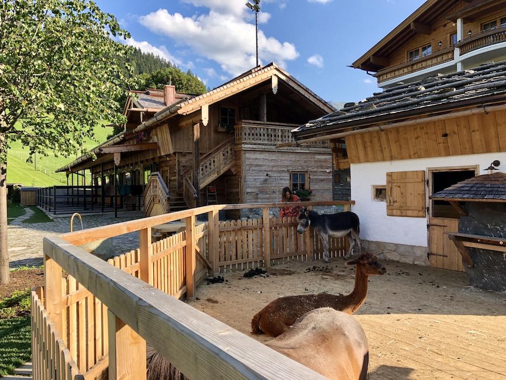 Unterschwarzachhof Österreich Familienhotel